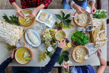 Armenian Cuisine - mentality, spirit and character