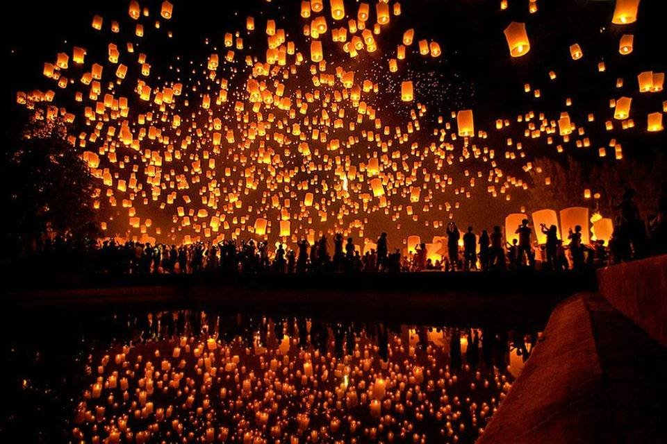 Flying Lanterns Festival