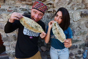 Meet David Hoffmann, the new fan of Armenian cuisine